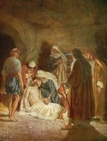 jesus laid in the tomb